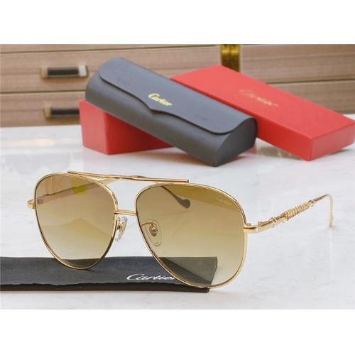 Cartier AAA Quality Sunglasses #821874
