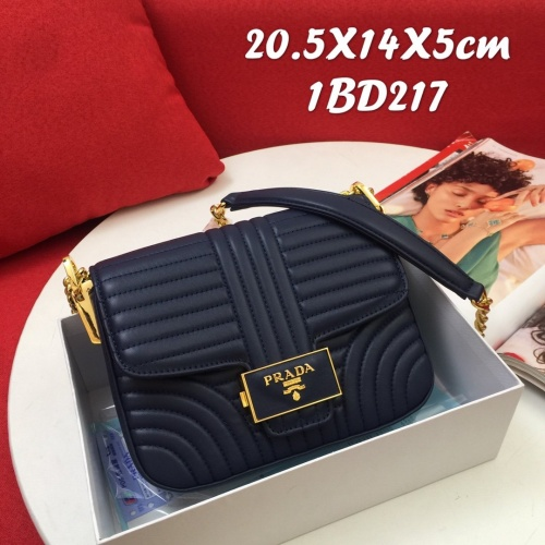 Prada AAA Quality Messeger Bags For Women #821939