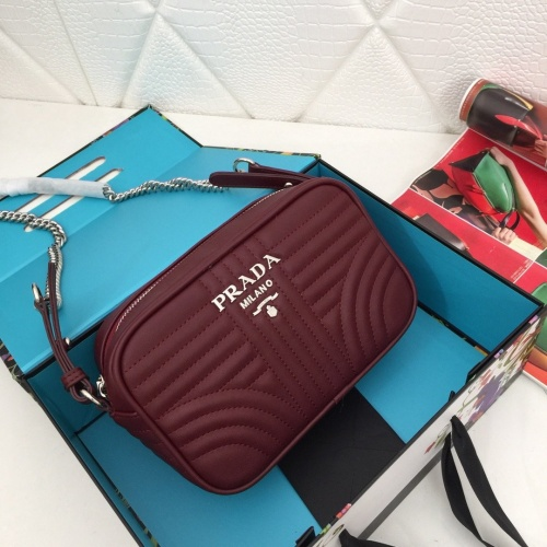 Prada AAA Quality Messeger Bags For Women #821955