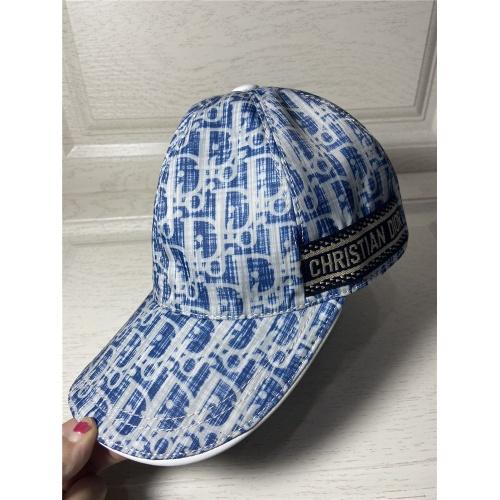 Replica Christian Dior Caps #822003 $34.00 USD for Wholesale