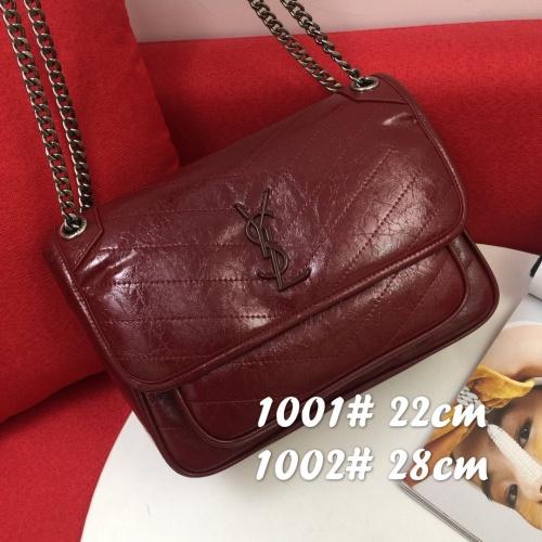 Yves Saint Laurent YSL AAA Messenger Bags For Women #822011 $98.00 USD, Wholesale Replica Yves Saint Laurent YSL AAA Messenger Bags