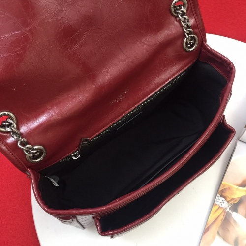 Replica Yves Saint Laurent YSL AAA Messenger Bags For Women #822011 $98.00 USD for Wholesale
