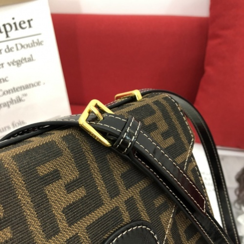 Replica Fendi AAA Messenger Bags For Women #822029 $100.00 USD for Wholesale