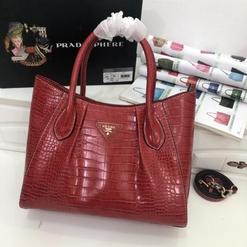 Prada AAA Quality Handbags For Women #822053