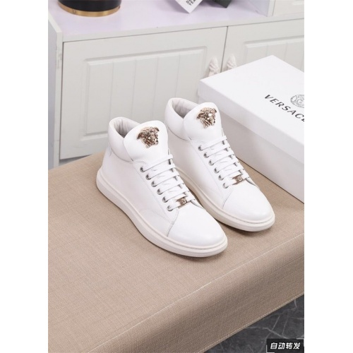 Versace High Tops Shoes For Men #822072