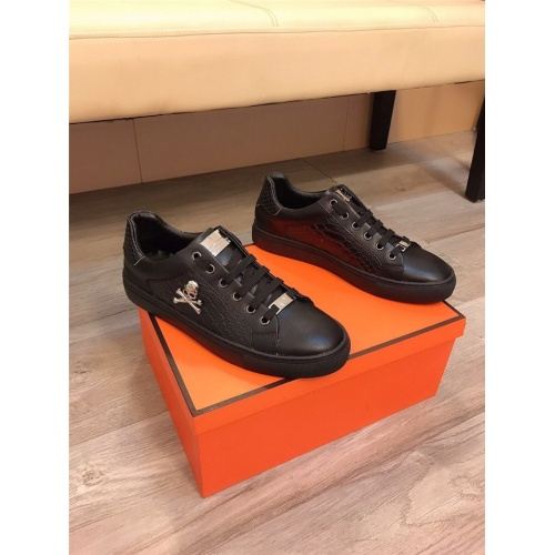 Replica Philipp Plein PP Casual Shoes For Men #822089 $76.00 USD for Wholesale