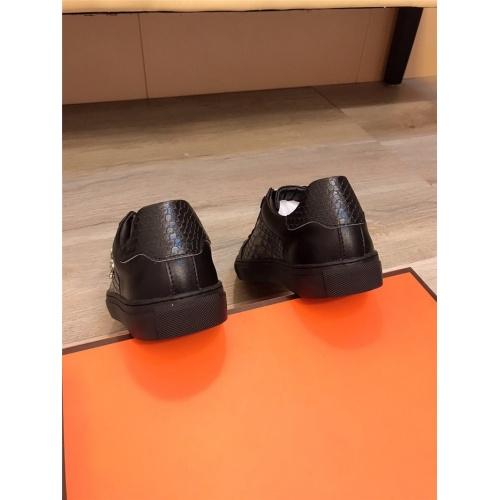 Replica Philipp Plein PP Casual Shoes For Men #822089 $76.00 USD for Wholesale