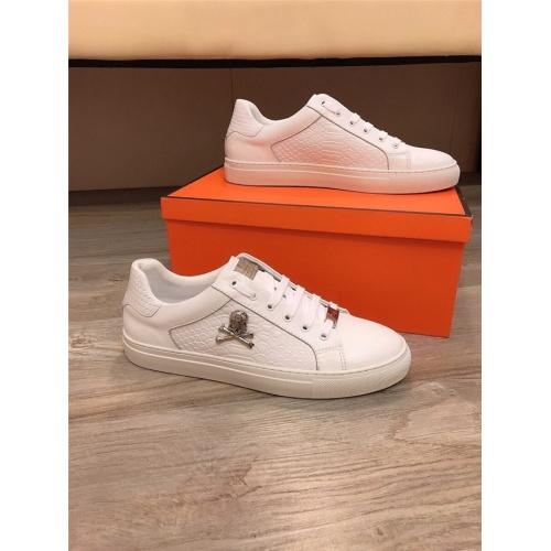 Philipp Plein PP Casual Shoes For Men #822090 $76.00 USD, Wholesale Replica Philipp Plein Shoes