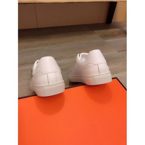 Replica Philipp Plein PP Casual Shoes For Men #822090 $76.00 USD for Wholesale