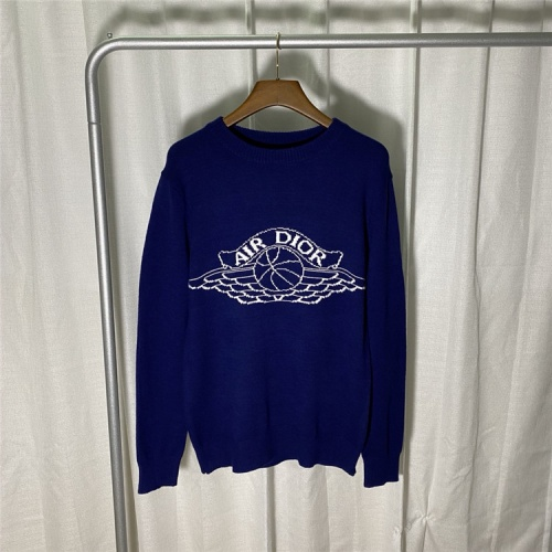 Christian Dior Sweaters Long Sleeved O-Neck For Unisex #822108