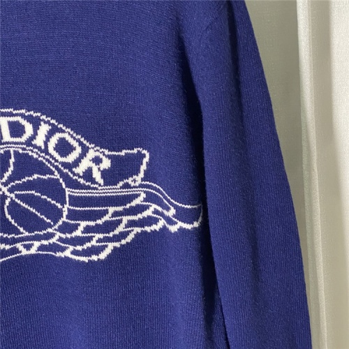 Replica Christian Dior Sweaters Long Sleeved O-Neck For Unisex #822108 $45.00 USD for Wholesale