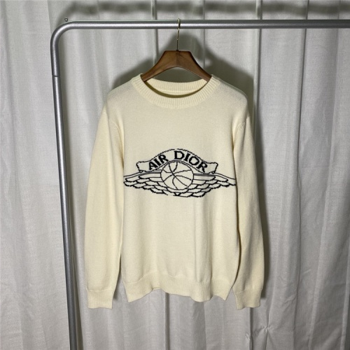 Christian Dior Sweaters Long Sleeved O-Neck For Unisex #822109