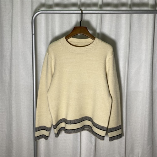 Christian Dior Sweaters Long Sleeved O-Neck For Unisex #822112