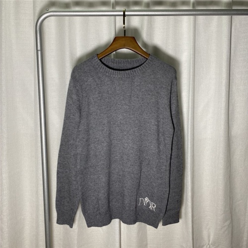 Christian Dior Sweaters Long Sleeved O-Neck For Unisex #822114