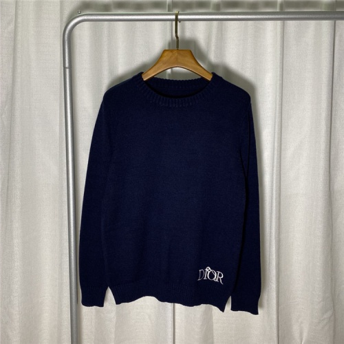 Christian Dior Sweaters Long Sleeved O-Neck For Unisex #822116