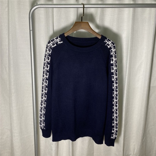Christian Dior Sweaters Long Sleeved O-Neck For Unisex #822119