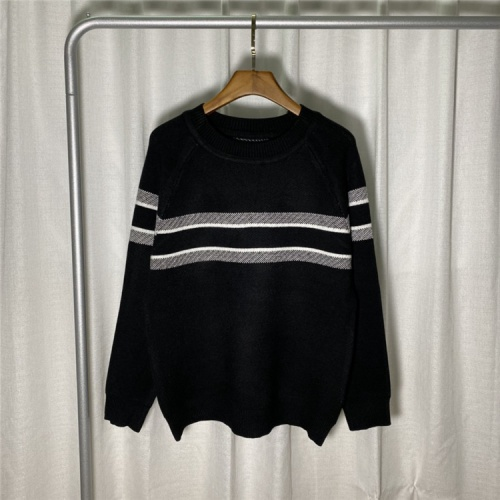 Christian Dior Sweaters Long Sleeved O-Neck For Unisex #822120