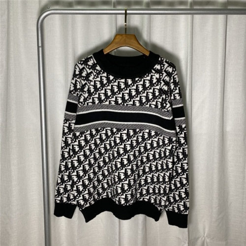Christian Dior Sweaters Long Sleeved O-Neck For Unisex #822121