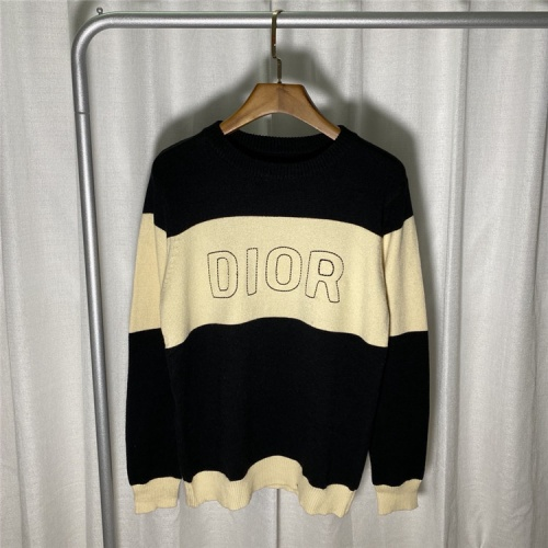 Christian Dior Sweaters Long Sleeved O-Neck For Unisex #822125
