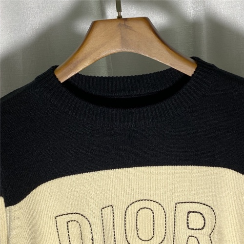 Replica Christian Dior Sweaters Long Sleeved O-Neck For Unisex #822125 $45.00 USD for Wholesale
