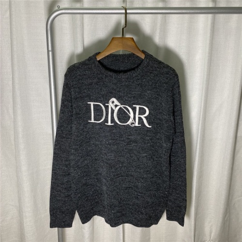 Christian Dior Sweaters Long Sleeved O-Neck For Unisex #822137