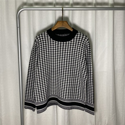 Christian Dior Sweaters Long Sleeved O-Neck For Unisex #822138