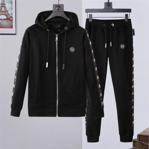 Philipp Plein PP Tracksuits Long Sleeved Zipper For Men #822143