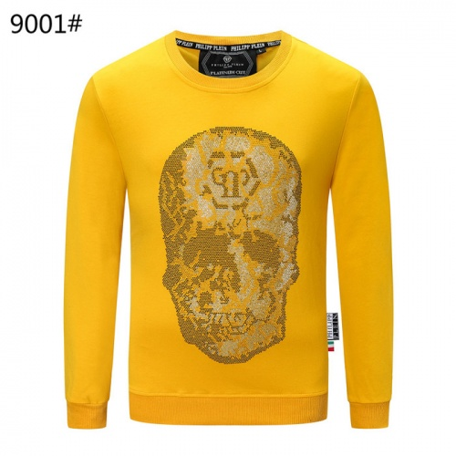 Philipp Plein PP Hoodies Long Sleeved O-Neck For Men #822146