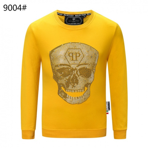 Philipp Plein PP Hoodies Long Sleeved O-Neck For Men #822152