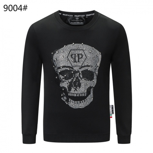 Philipp Plein PP Hoodies Long Sleeved O-Neck For Men #822153