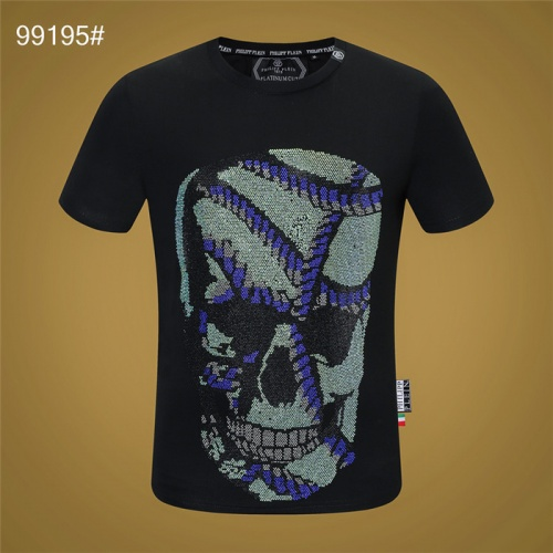 Philipp Plein PP T-Shirts Short Sleeved O-Neck For Men #822157