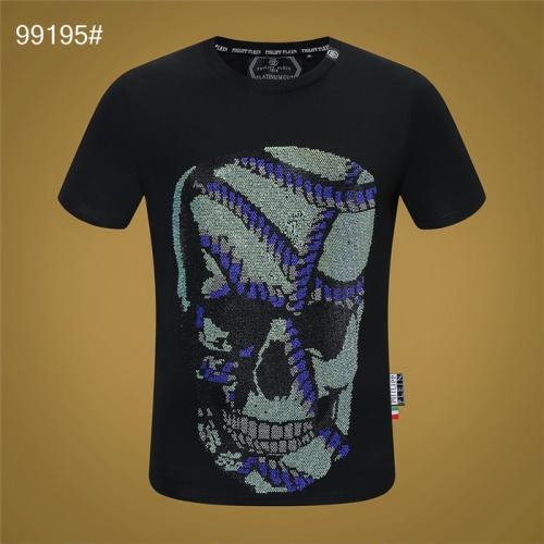 Philipp Plein PP T-Shirts Short Sleeved O-Neck For Men #822157
