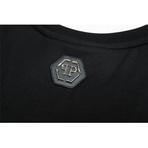 Replica Philipp Plein PP T-Shirts Short Sleeved O-Neck For Men #822158 $28.00 USD for Wholesale