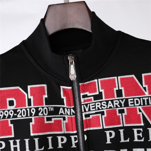 Replica Philipp Plein PP Jackets Long Sleeved Zipper For Men #822161 $76.00 USD for Wholesale