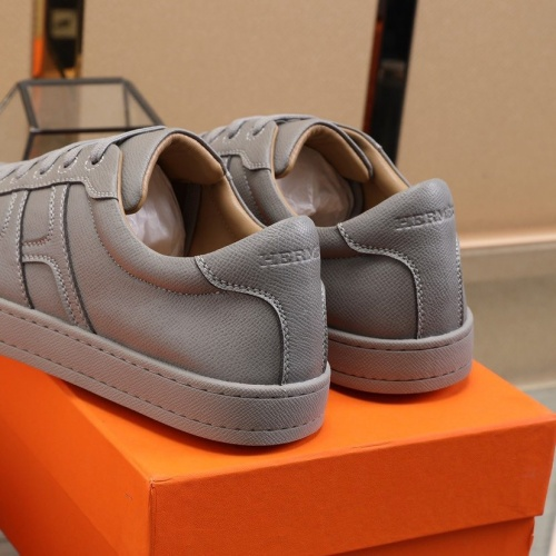 Replica Hermes Casual Shoes For Men #822162 $82.00 USD for Wholesale