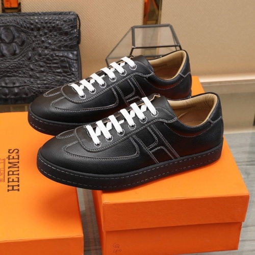 Replica Hermes Casual Shoes For Men #822163 $82.00 USD for Wholesale