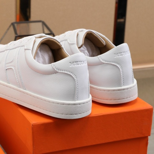 Replica Hermes Casual Shoes For Men #822164 $82.00 USD for Wholesale