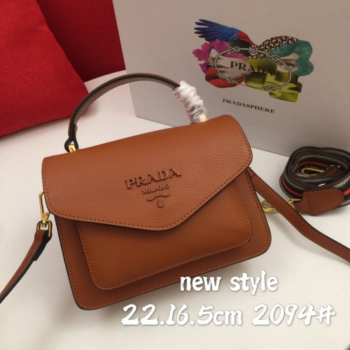Prada AAA Quality Messeger Bags For Women #822213