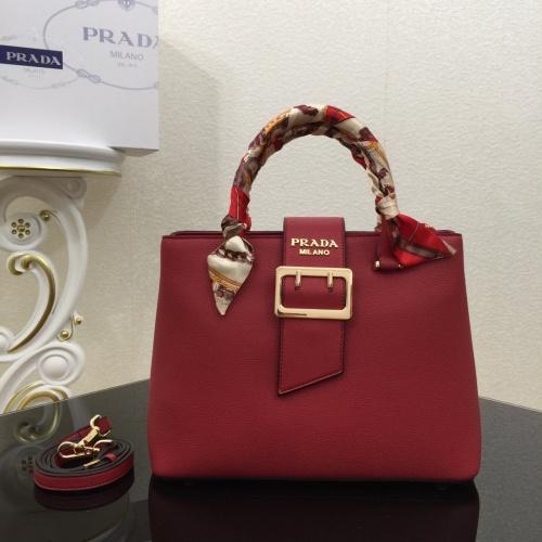 Prada AAA Quality Handbags For Women #822244