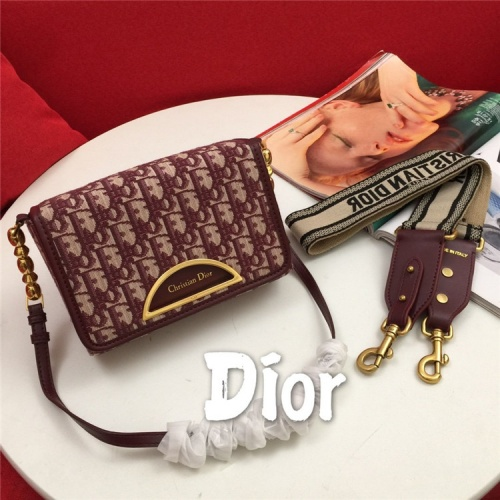 Christian Dior AAA Quality Messenger Bags For Women #822345 $85.00 USD, Wholesale Replica Christian Dior AAA Quality Messenger Bags