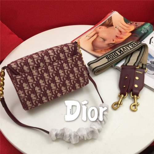 Replica Christian Dior AAA Quality Messenger Bags For Women #822345 $85.00 USD for Wholesale