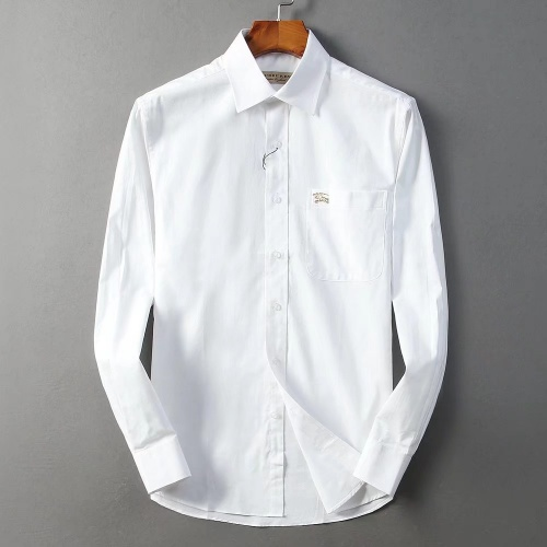 Burberry Shirts Long Sleeved Polo For Men #822445