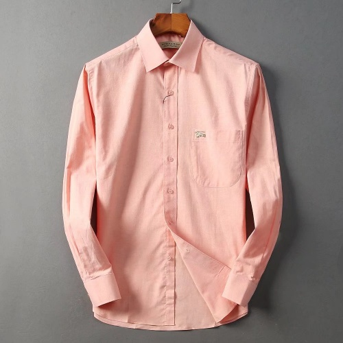 Burberry Shirts Long Sleeved Polo For Men #822448