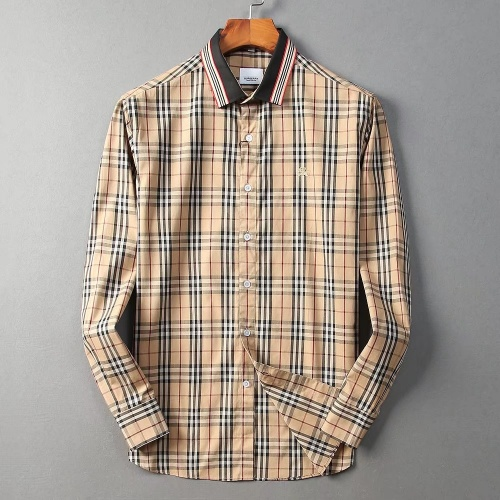 Burberry Shirts Long Sleeved Polo For Men #822450