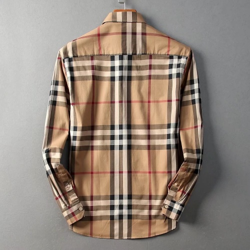 Replica Burberry Shirts Long Sleeved Polo For Men #822451 $42.00 USD for Wholesale