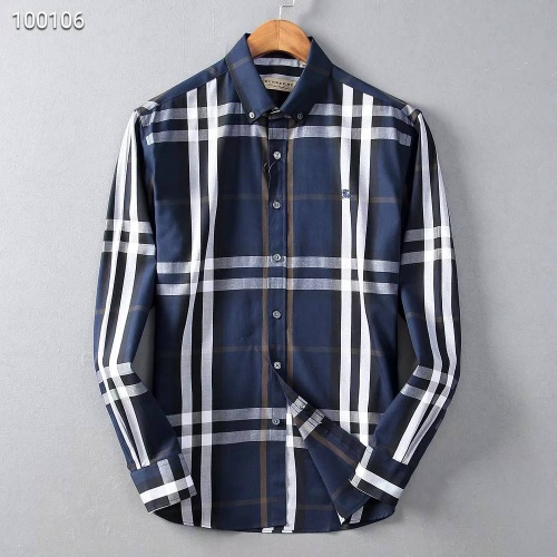 Burberry Shirts Long Sleeved Polo For Men #822453
