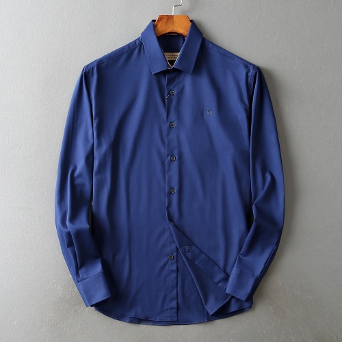 Burberry Shirts Long Sleeved Polo For Men #822456