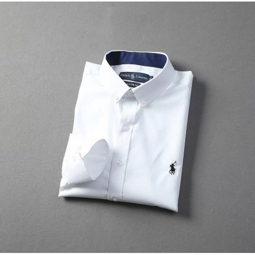 Replica Ralph Lauren Polo Shirts Long Sleeved Polo For Men #822460 $40.00 USD for Wholesale