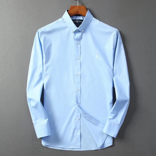 Ralph Lauren Polo Shirts Long Sleeved Polo For Men #822461