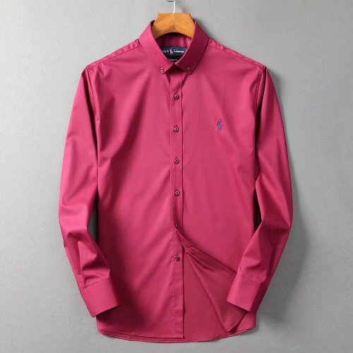 Ralph Lauren Polo Shirts Long Sleeved Polo For Men #822462